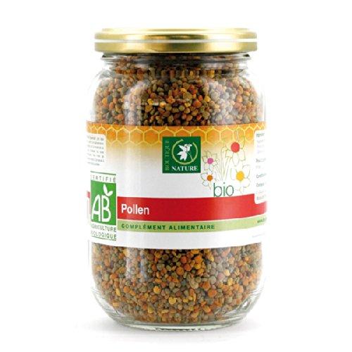 Boutique Nature - Complément Alimentaire - Pollen Multifloral BIO - 125 grammes - Apporte tous ses bienfaits pour revigorer l'organisme -