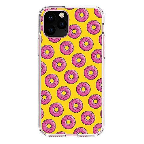 SiYooca Transparent Slim Liquid Flexible Fundas Soft Case Back Cover for Apple iPhone 11 PRO Max-Funny Homer-Simpson 6