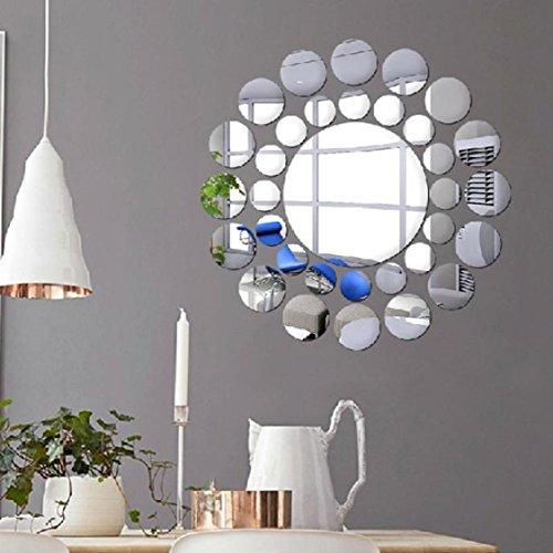 Vovotrade Miroirs de bricolage Fashion Wall Sticker Décoration