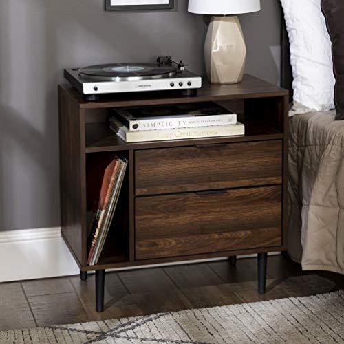 Walker Edison Modern Wood Nightstand Side Table...