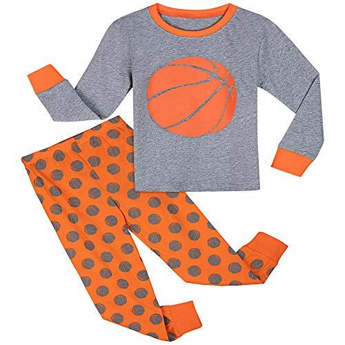 hengGuKeJiYo Kinder Jungen Pyjama Sets Kinder Pyjamas Fußball Baseball Pijamas Kind Baumwolle Winter Basketball Fußball Nachtwäsche Kleidung