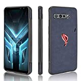 HAOTIAN Case for Asus ROG Phone 3 ZS661KS Cover, Slim PU