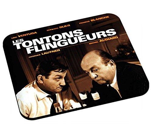 Tapis de Souris Lino Ventura Bernard blier Les Tontons flingueurs Films a Papa