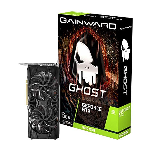 Gainward GeForce GTX 1660 SUPER Ghost 6GB GDDR6 Grafikkarte - DisplayPort/HDMI/DVI