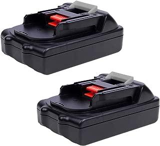 VINIDA 18V 1.5Ah BL1815 Lithium Replacement Battery for Makita BL1815N BL1820 BL1830 BL1840 BL1845 BL1850 BL1850B-2 LXT-400 Power Tools Batteries (2 Pack)