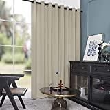 Deconovo Sliding Door Curtains - Wide Width Curtains, 100 Inch Wide, Light Blocking Drapes for...