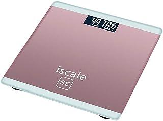 LLSS Báscula de baño Báscula electrónica de pesaje Báscula de pesaje para la Salud del hogar Báscula Digital de Grasa