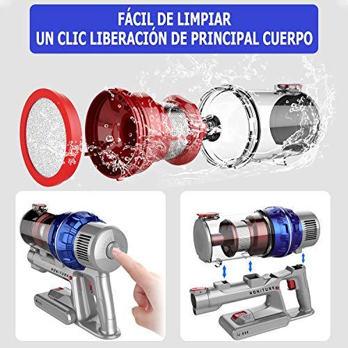 HONITURE H9 Aspiradora Escoba sin Cable,