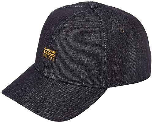 G-STAR RAW Original Cappellino da Baseball, Raw Denim B988-001, Taglia Unica Uomo