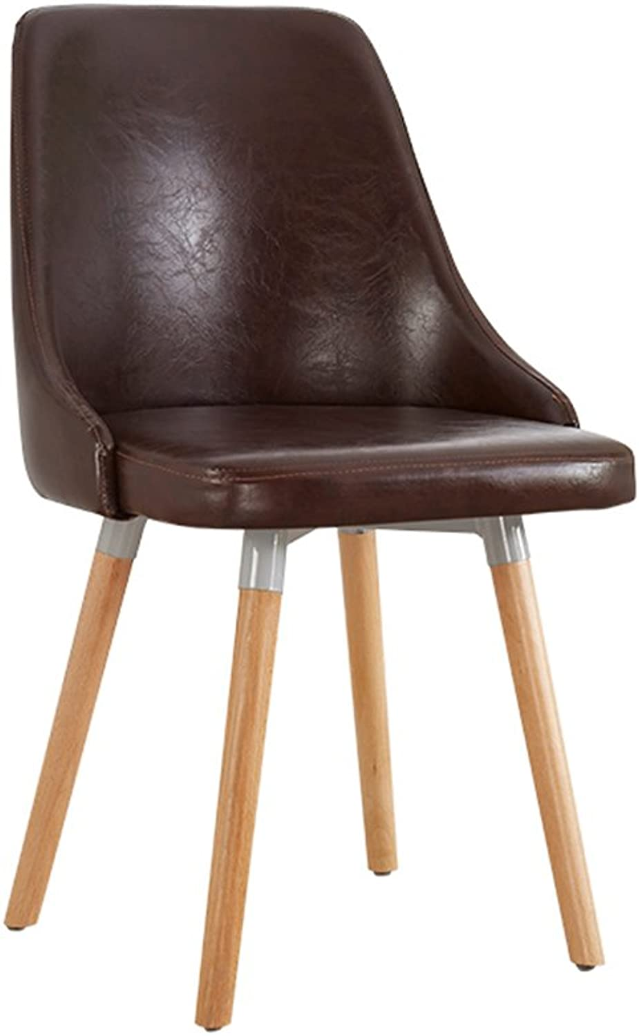 European Chair Modern Simple Study Computer Chair Home Stool Back Adult Dining Chair -by TIANTA (color   3)