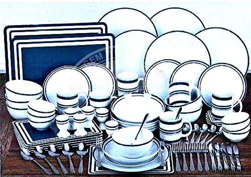Waterside Bistro - Set da tavola da 80 pezzi