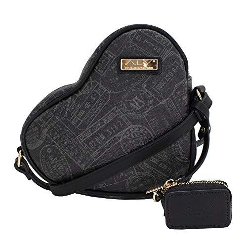 ALVIERO MARTINI ALV Borsa love - love bag by donna Nero- 20,5X16,5X5