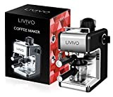 LIVIVO Coffee Maker Machine 2020 Model with Milk Frothing Arm for Cappuccino, Espresso