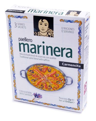 503Carmencita Paellero Marinera Paella Spice Mix By proaliment Jesus Navarro S.A.