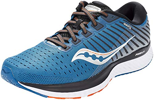 Saucony Men's S20548-25 Guide 13 Running Shoe, Blue/Silver - 10 M US