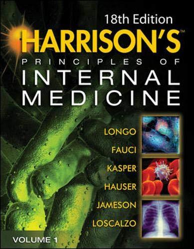 Harrison's Principles of Internal Medicine, 18th Edition (2-volume set)の詳細を見る