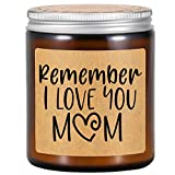 Fairy's Gift Scented Candles - Gifts for Mom, Mom Gifts - Remember I Love You Mom - Mom Birthday Gifts - Mom Gifts from Daughter, Son - Best Mom Ever, New Mom, Mom to be, Pregnant Mom Candle Gifts