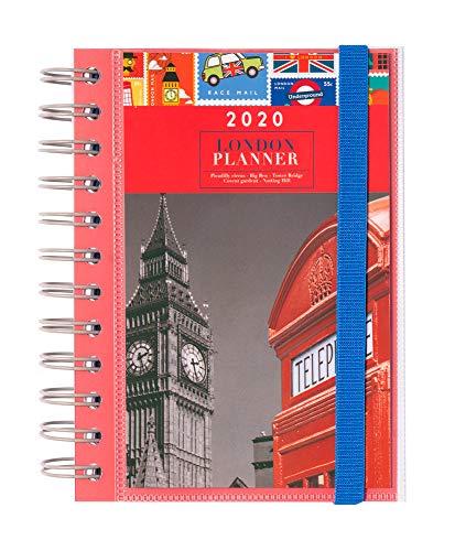 ERIK - Agenda anual 2020 Londres, día página (11,4x16 cm)