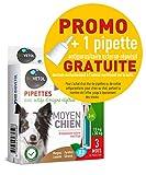 Biovetol - Offre Speciale - Pipettes Anti-Puce pour Moyen Chien (de 15 à 30 kg) - 3x3ml + 1 Offerte