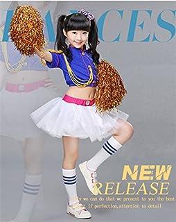 (マリア)MARIAHキッズ ワンピース ダンス衣装 子供用 チュールスカート ふわふわ ロリータ ボリューム パニエ キッズ パーティードレス 演奏会