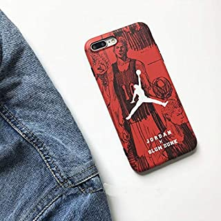 1 piece Jordan 23 Slam Dunk japan cartoon sports Soft cover case for iphone 6 6Plus 7 7 plus 8 8Plus X Hanamichi Sakuragi phone cases