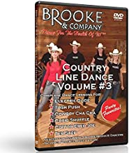 Country Line Dance Volume #3 - Party Favorites by Brooke & Company by Brooke Underbrink