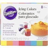 Brand New Item Wilton Icing Colors .5Oz 8/Pkg