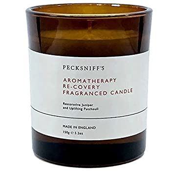 Pecksniffs Aromatherapy Re-Covery Juniper and Patchouli Scented Candle