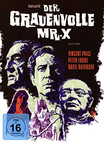 Der grauenvolle Mr. X - Mediabook - Cover A - Phantastische Filmklassiker Folge Nr. 8 [Blu-ray]