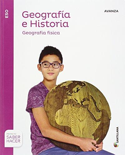 GEOGRAFIA E HISTORIA ADAPTACION CURRICULAR SERIE AVANZA VERSION C 1 ESO SABER...