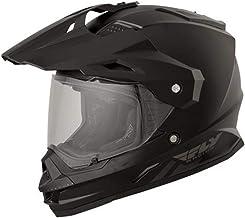 Fly Racing 73-7011L Trekker Helmet (Color Matte Black, Size Large)