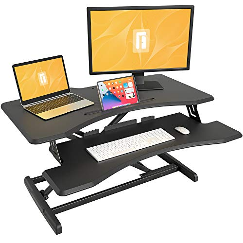 FEZIBO Standing Desk with Height Adjustable