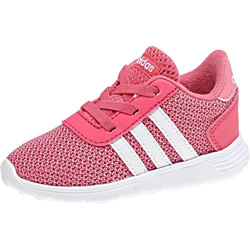 adidas Lite Racer, Zapatillas Unisex bebé, Rosa (Reapnk/Lt Pink/Ftwwht 000), 20 EU