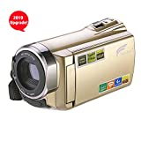 Best Camcorders Hdvs - HAUSBELL Upgraded Camcorder 8.0Mega Pixels CMOS Sensor HDV-5052 Review