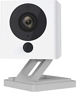 Cam Pan 1080p Pan Cam Doorbell Security Camera System Wireless Camera Wi-Fi Indoor Smart Home Camera with Night Vision, 2-Way Audio, Works with Alexa & The Google Assistant