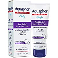 Aquaphor Baby Diaper Rash Paste For Troublesome Diaper Rash and Flare-ups