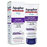 Aquaphor Baby Diaper Rash Paste - Fast Relief For Troublesome Diaper Rash and Flare-ups - 3.5 Oz. Tube