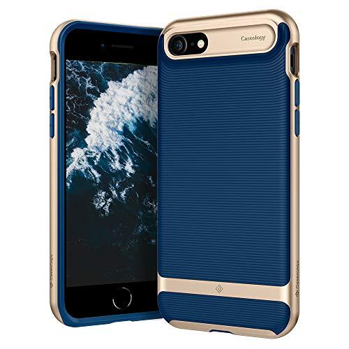 Caseology Wavelength for Apple iPhone SE 2020 Case for iPhone 8 Case (2017) for iPhone 7 Case (2016) - Navy Blue