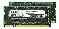 8GB 2X4GB Memory RAM for Dell Latitude E5500 200pin 800MHz PC2-6400 DDR2 SO-DIMM Black Diamond Memory Module Upgrade