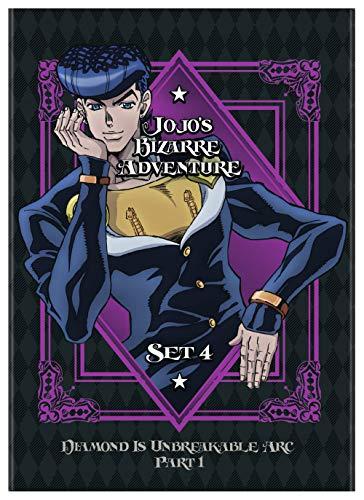 JoJo's Bizarre Adventure Set 4: Diamond Is Unbreakable Part 1 (DVD)