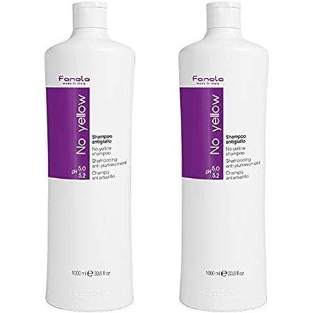 Fanola No Yellow shampoo antigiallo, 2 x 1000 ml