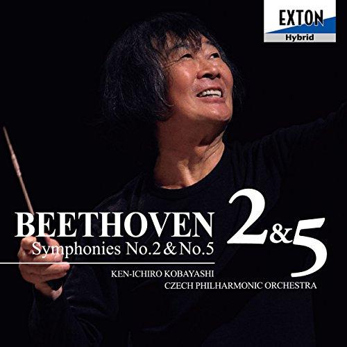 ベートーヴェン:交響曲第2番&第5番