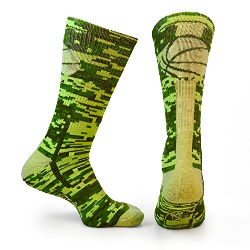 ATHLETIC Media Acolchada Calcetines | Mid Calf | Baloncesto superelite | Varios colores