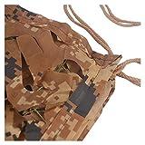 Camouflage Reticulated Desert Brown Sonnenschutznetz 2 * 3m Camouflage Net Markisen Oxford Tuch 5 * 8m 6 * 10m Campingzelt Abdeckung for Kinder Gartendekoration Pavillon Terrasse Balkon...