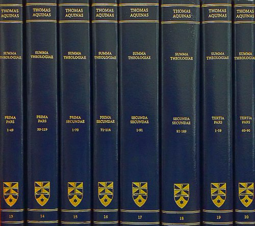 Summa Theologiae: Complete Set