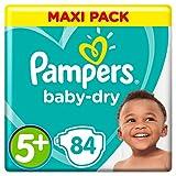 Pampers Baby-Dry Windeln, Gr. 5+, 12kg-17kg,...