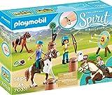 PLAYMOBIL DreamWorks Spirit - Aventura al Aire Libre con Abigaíl y Boomerang, A partir de 4 Años (70331)