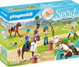 PLAYMOBIL DreamWorks Spirit - Aventura al Aire Libre con Abigaíl y Boomerang, A...