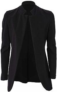 Luxury Fashion   Kaos Women MP1CO0160001 Black Polyester Blazer   Spring-summer 20