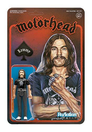 Motorhead Reaction Figure Lemmy Action Figure Standard